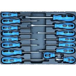 Module servante pour 16 tournevis avec outils  STILKER - S09304