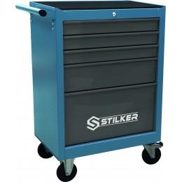 SERVANTE D'ATELIER 5 TIROIRS  180 outils -STILKER  S25087