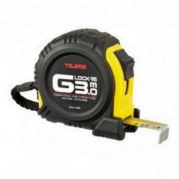 Mètre  ruban G-lock antichoc 3 m x 16 mm  Tajima G6P30MY - S14378