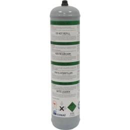 BOUTEILLE GAZ ARGON/CO2 JETABLE POUR SOUDURE ACIER/INOX 1 L  TELWIN 05217
