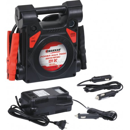 Booster démarrage POWER MAX 7000 -  DRAKKAR EQUIPEMENT-S04512