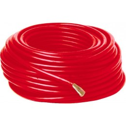 Cable de démarrage cuivre ROUGE 25 mètres section 25 mm² - SODISTART S04309