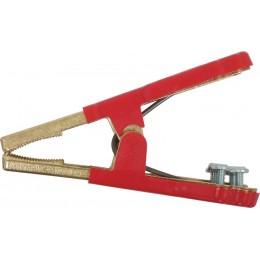 Pince de démarrage rouge en bronze 500 Ampères  178mm - S04155