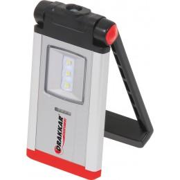 Lampe de poche  DRAKKAR ultra plate rechargeable 3 + 1 LED - S02222
