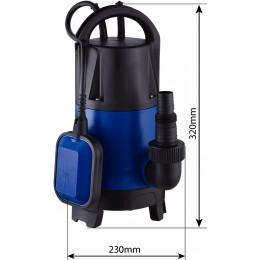 Pompe immergée Eaux Mixtes 550 W   PVC -SODIGREEN 08178