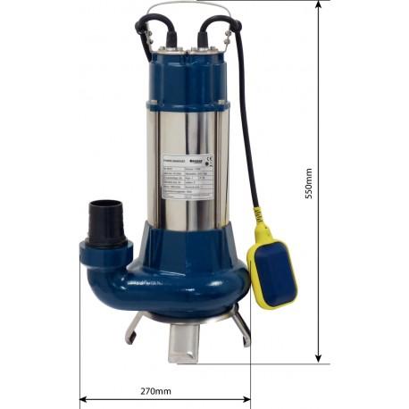 Pompe immergée automatique Fonte 1100W  Special Agriculture