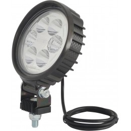 PHARE TRAVAIL  CARBONE Ultra Leger 6LED  - 12W 1500 lm - CEA - S17031