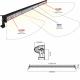 BARRE D'ECLAIRAGE sodiflash LED 300W 20000LM 100 LEDS 3W ECLAIRAGE COMBINE -S17037
