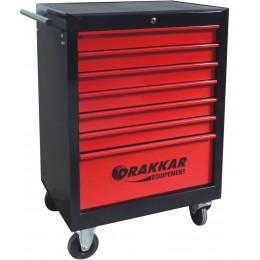 SERVANTE 7 TIROIRS DRAKKAR EQUIPEMENT  7 tiroirs - 205 outils  S25057