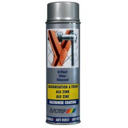 AEROSOL  Peinture galvanise Brillante PRO 500 ml - MO07302