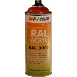 Peinture RAL ACRYL 3000 brillant . 400ml  Dupli Color - MO349560