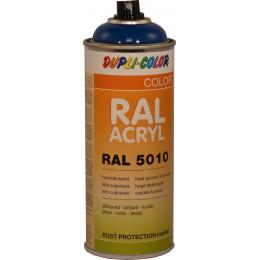Peinture  RAL ACRYL 5010 bleu gentiane  brillant 400 ml DUPLICOLOR - MO349584