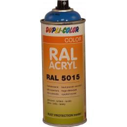 Peinture  RAL ACRYL 5015 bleu CIEL  brillant 400 ML DUPLICOLOR - MO349614A
