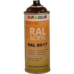 Peinture  RAL ACRYL 8017 Chocolat brillant 400 ML DUPLICOLOR - MO349775