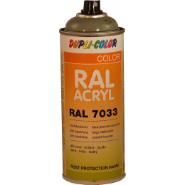 PEINTURE  RAL ACRYL 7033 Gris Ciment brillant 400 ML DUPLICOLOR - MO366192