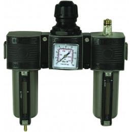 Ensemble filtre régulateur lubrificateur 1/4 - S06416