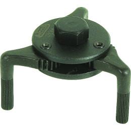 Clé à filtre 3 bras aimantee 55 à 72 mm DRAKKAR TOOLS - S09166