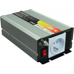Convertisseur 300 watts 12 volts continu en 220 volts alternatif - S05106