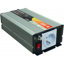 CONVERTISSEUR COURANT  TENSION 300W  PURE SINUSOIDE 12v - S05113