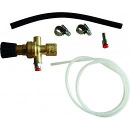 Kit  réducteur de pression pour bouteille jetable Mig Mag - S05214