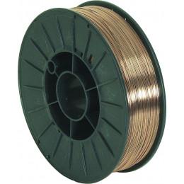 Bobine fil acier 5 KG diametre 0,6 mm (TELMIG) - S05255