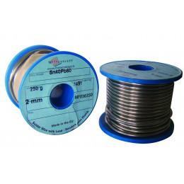 Bobine de fil étain 40% 250 gr diamètre 20/10 mm - S05624