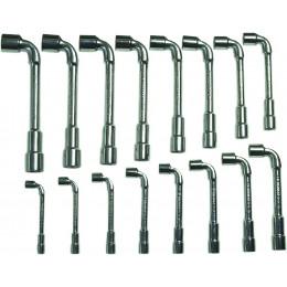 Jeu de 16 clés à pipe débouchées DRAKKAR TOOLS - S12278