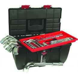 Jeu de 26 clés à pipe débouchées de 6 à 32mm DRAKKARTOOLS - S12280