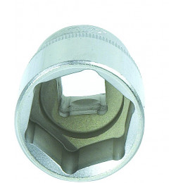 Douille de 13 mm carré 1/2 pouce 6 pans DRAKKAR TOOLS - S12357