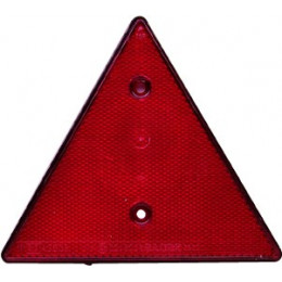 Triangle de remorque Catadioptre triangulaire rouge - S16150