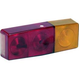 Lanterne 4 fonctions rectangulaire reversible droit gauche type 2703 - S16170