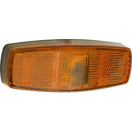 Feu de position latéral orange à plat 115 x 42 mm - S16176