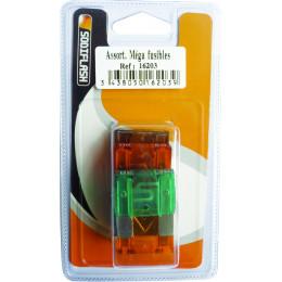Lot de 5 maxi fusibles enfichables de 30 a 70 Amperes - S16203