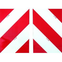 2 PANNEAUX DE SIGNALISATION CAMION TPESC DIM .423 x 282 MM - S16278