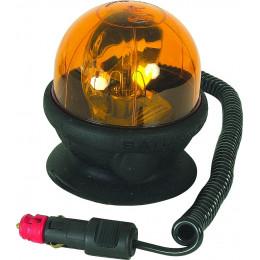 Gyrophare magnétique et ventouse saturnello 12 volts - S16307