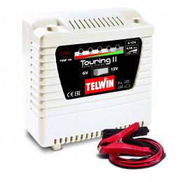 Chargeur de batterie STANDARD TOURING 11 - 6/12V  TELWIN SPINTER START - S04503