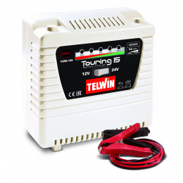 Chargeur de batterie STANDARD TOURING 15 - 12/24V TELWIN SPINTER START - S04504