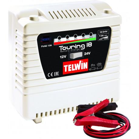 Chargeur de batterie STANDARD TOURING 18 - 12/24V  TELWIN SPINTER START - S04508