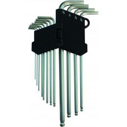 12 CLES COUDEES 6 PANS A BOULE - S10662