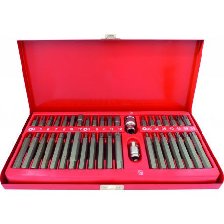 Coffret métallique de 40 embouts de vissage assortis DRAKKAR TOOLS - S10751
