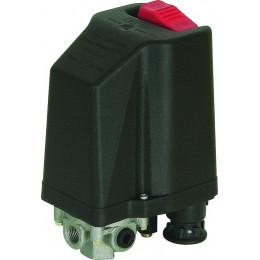 Telepressostat disjoncteur auto  4 VOIES  3/8 pouce 380-400 V de 6,3 à 10 A - S11394
