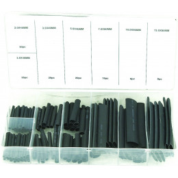 Assortiment de 127 Gaine thermo-rétractables - S14109