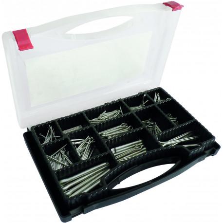 Goupilles fendues en coffret de 290 pièces KLIPPER - S14187