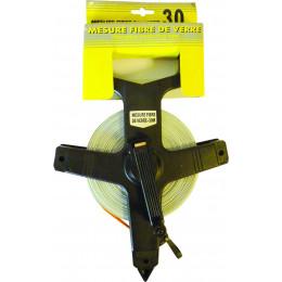 Mesure 30 Metres fibre de verre poignée plastique - S14304