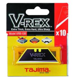 Lames trapèze pour couteaux  Tajima VRB10B 10 - S14392