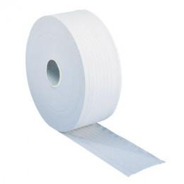 Lot 6 bobines de papier  Maxi Jumbo blanc pur 350 mètres pour dévidoir Jumbo - S17511