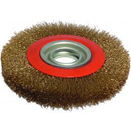 Brosse métallique diamètre 150 mm alésage 32 mm - S15540