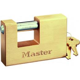 Master Lock  Cadenas laiton rectangulaire 76 mm - S15629