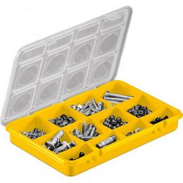 Mallette de rangement 12 casiers modulables Cargo 800 vide - S15787