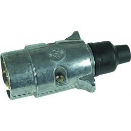 FICHE  METAL  MALE 7 PLOTS - S16110